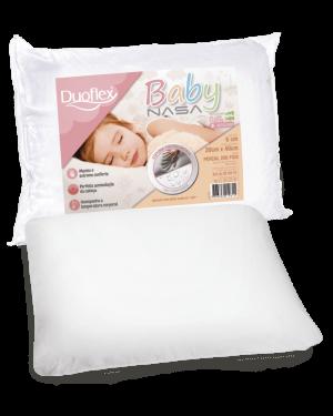 Travesseiro Baby NASA - Capa Impermeável - 30x40cm - Duoflex