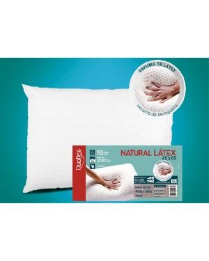 Travesseiro de Látex Natural - Capa 100% algodão 45x65 cm - Duoflex